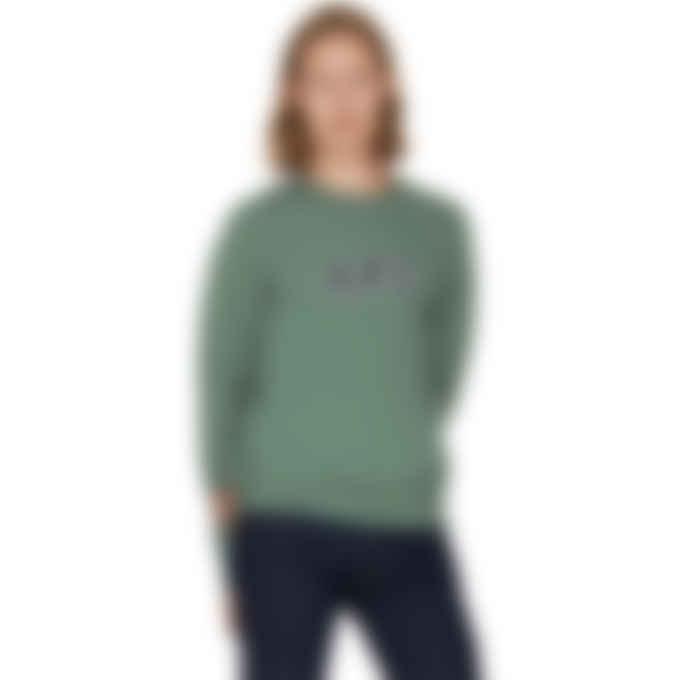 A.P.C. - Malcom Pullover Sweater - Heather Green