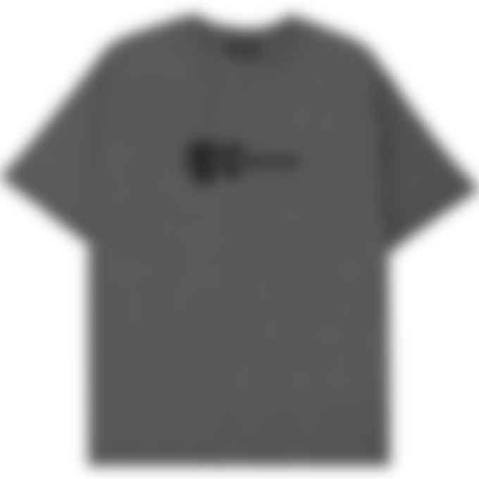 A.P.C. - Mael T-Shirt - Heather Grey Charcoal