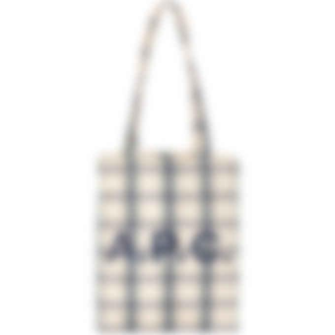A.P.C. - Lou Check Tote Bag - Multicolor