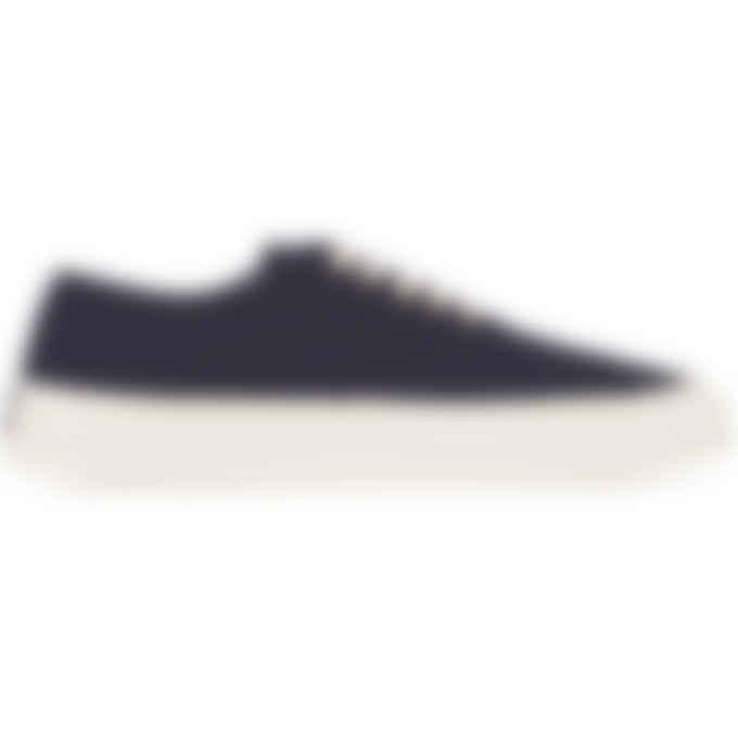Maison Kitsuné - Canvas Laced Sneakers - Navy