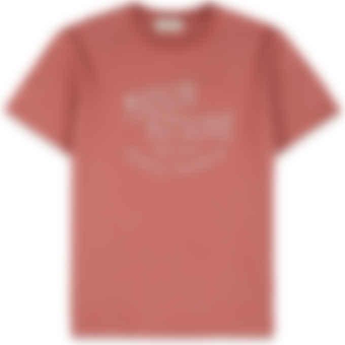 Maison Kitsuné - Palais Royal T-Shirt - Dark Pink