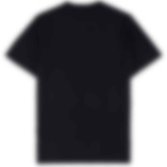 Maison Kitsuné - MK Monogram Embroidery T-Shirt - Black