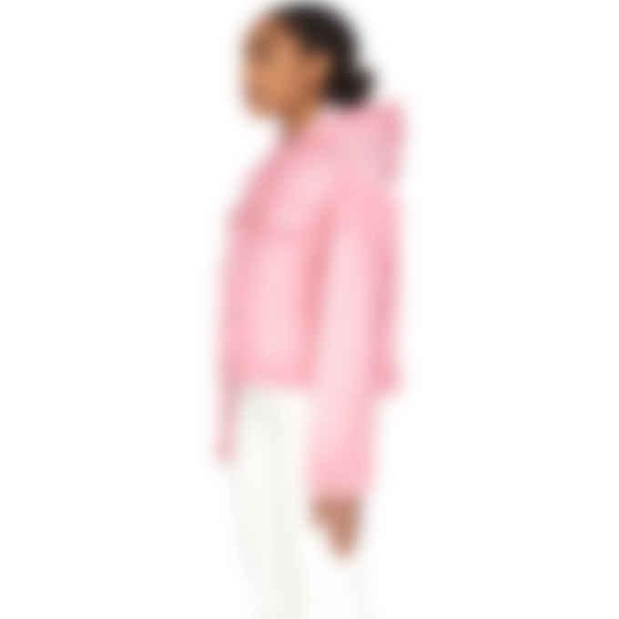 Kenzo - Hooded Denim Jacket - Flamingo Pink
