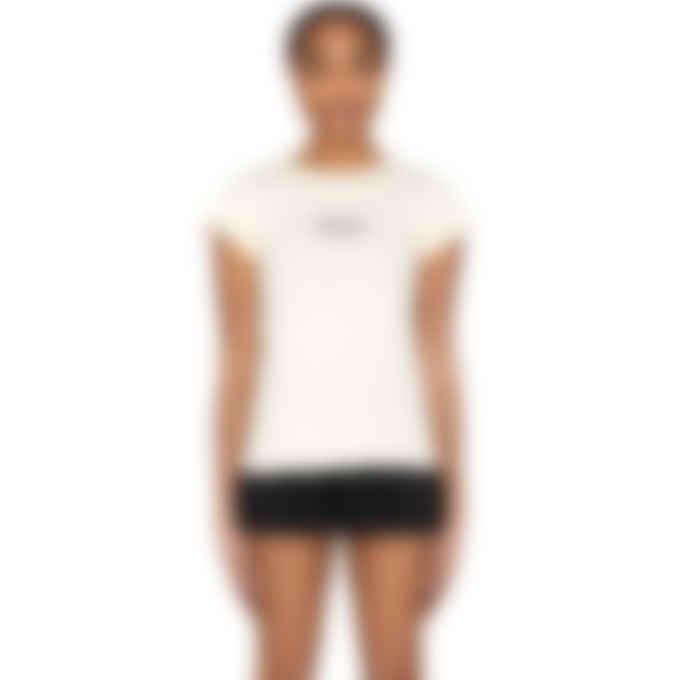 Kenzo - Mini Logo T-Shirt - Ecru