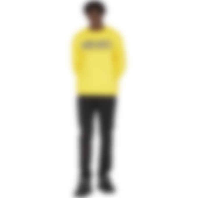 Kenzo - Colorblock Logo Pullover Sweater - Lemon