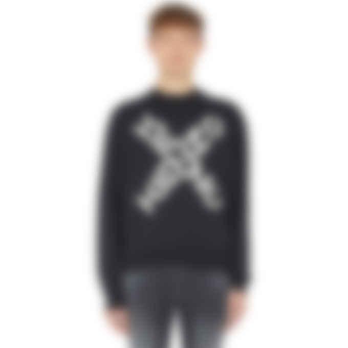 Kenzo - Kenzo Sport 'Big X' Pullover Sweater - Black