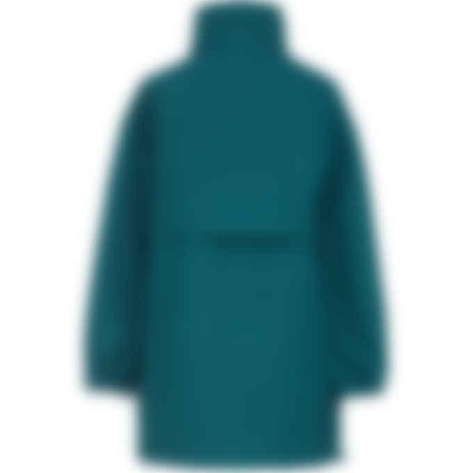 Kenzo - Half Zip Windbreaker - Duck Blue