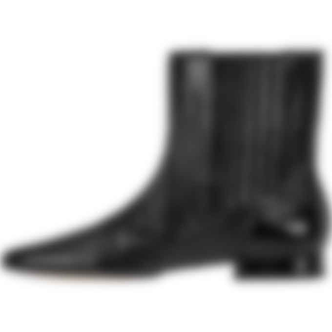 Kenzo - K-Line Soft Leather Mid Boots - Black