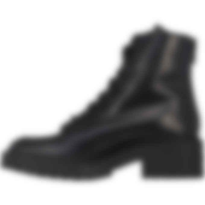 Kenzo - Pike Leather Lace up Boots - Black