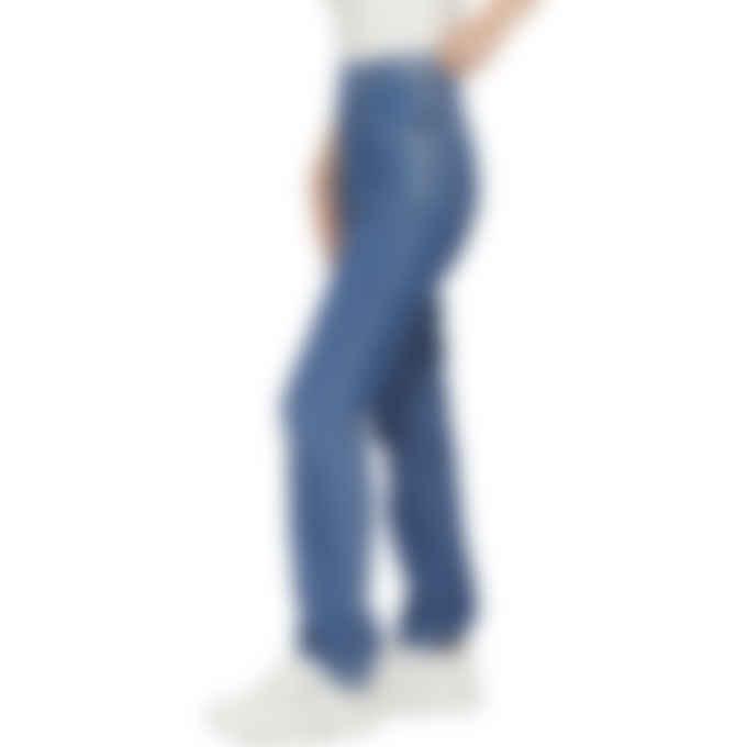 Kenzo - High Waisted Denim Jeans - Midnight Blue