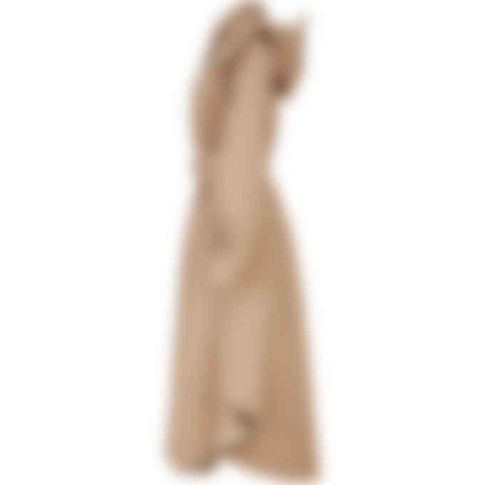 Kenzo - Long Belted Trench Coat - Dark Beige