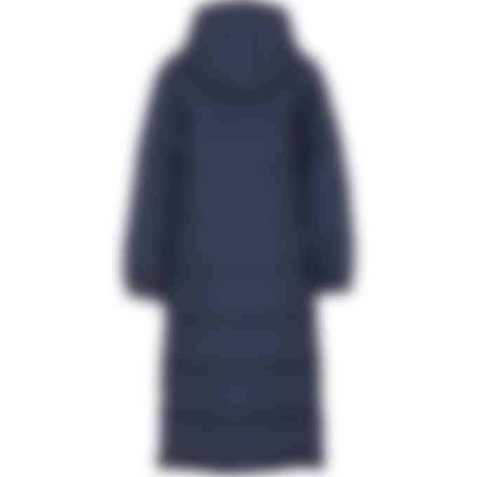 Kenzo - Reversible Long Quilted Coat - Navy blue