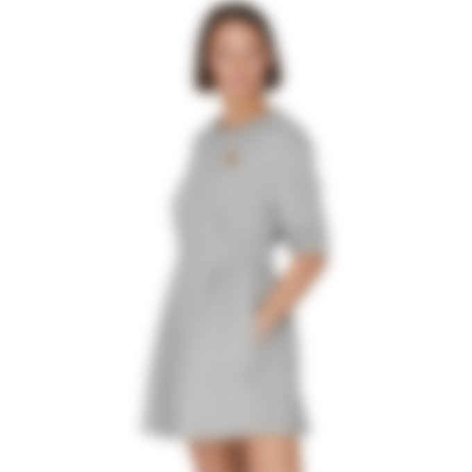 Kenzo - Tiger Crest Sweater Dress - Pearl Grey