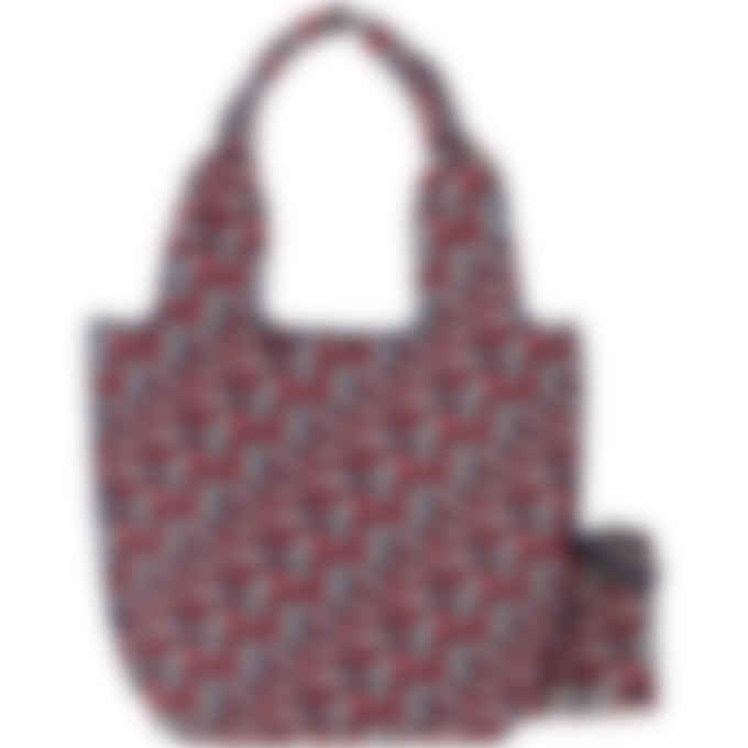 Kenzo - Skuba Monogram Logo Tote Bag - Medium Red