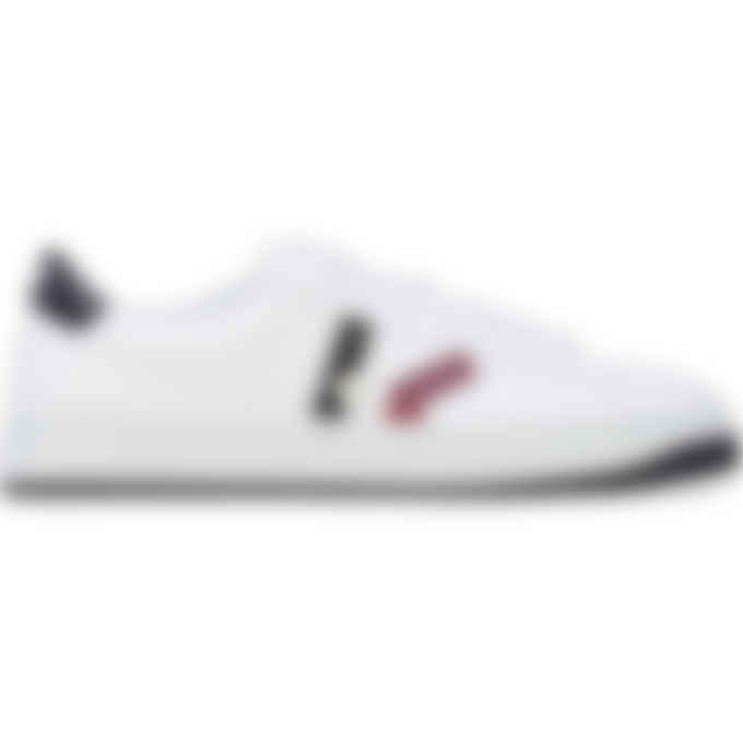Kenzo - Kourt 'K Logo' Leather Sneakers - Carmine