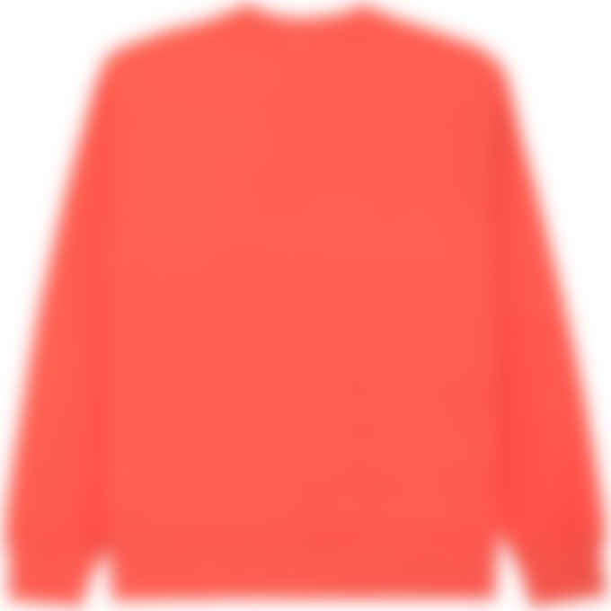 Kenzo - Logo Pullover Sweater - Red Orange