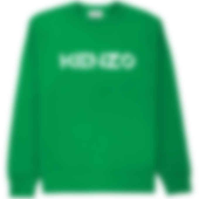 Kenzo - Logo Pullover Sweater - Green