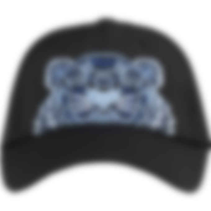 Kenzo - Canvas Kampus Tiger Cap - Black