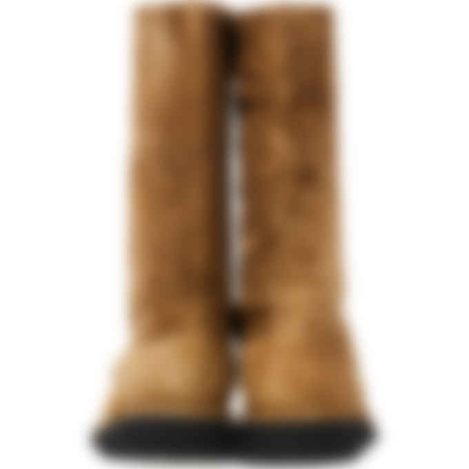 Kenzo - K-Mount High Top Suede Boots - Dark Camel