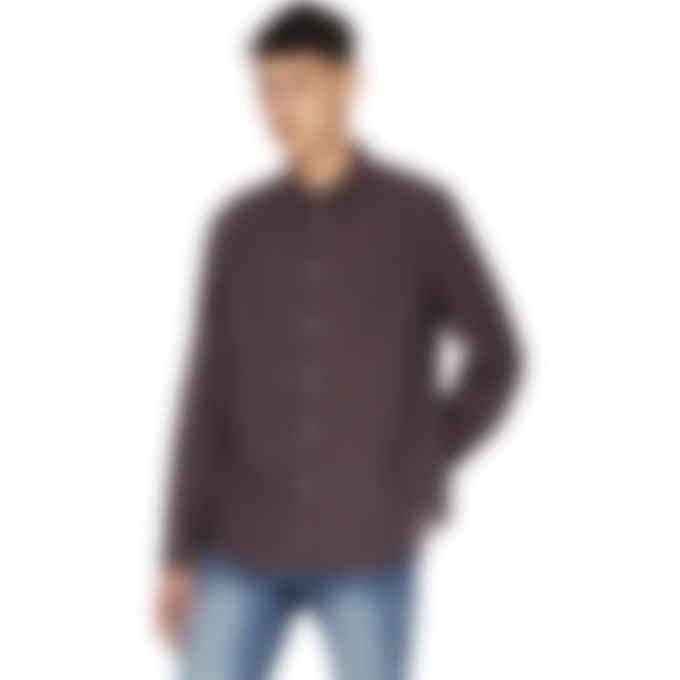 Kenzo - Checked Print Shirt - Magenta