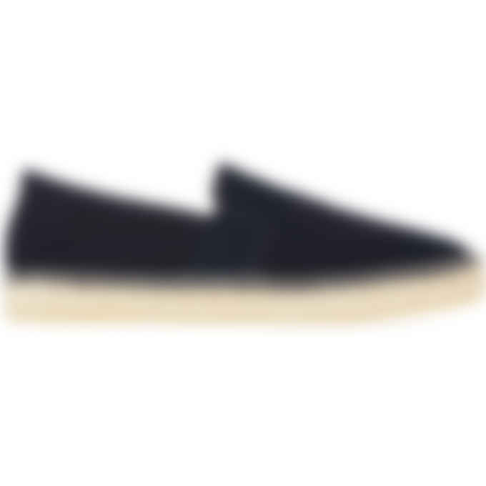 Kenzo - Stretch Canvas Tiger Espadrilles - Navy Blue