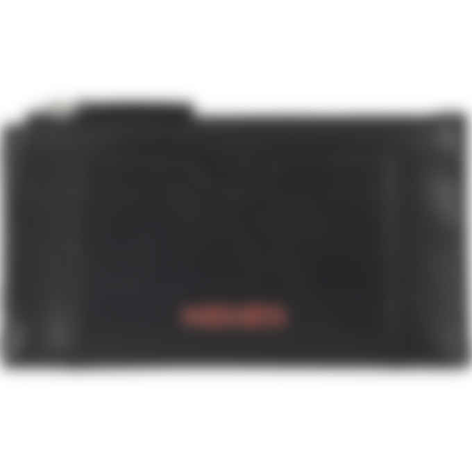 Kenzo - Cadet Logo Leather Zip Card Holder - Black