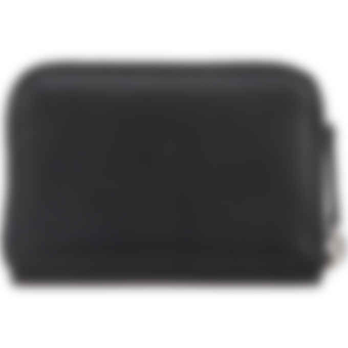 Kenzo - Cadet Logo Leather Zip Coin Purse - Black