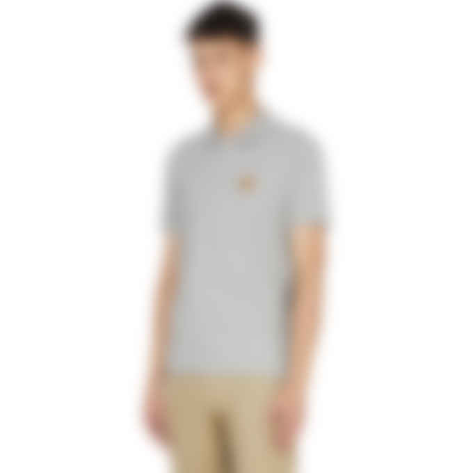 Kenzo - Tiger Crest Polo Shirt - Pearl Grey