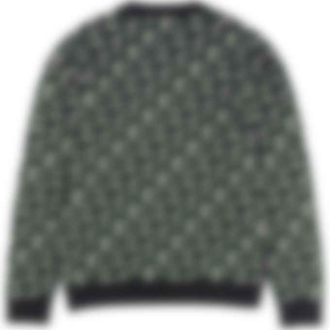 Kenzo - Kenzo Sport Monogram Logo Knit Pullover Sweater - Green