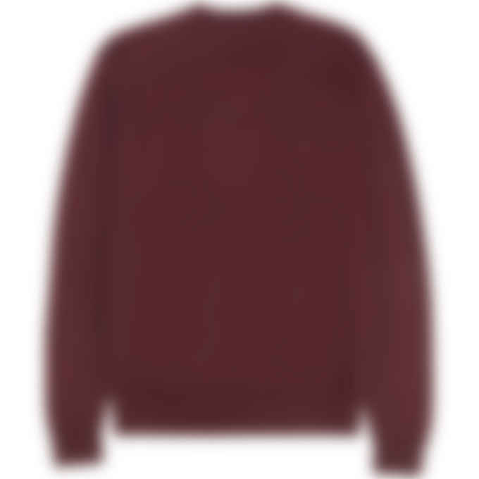 Kenzo - Tiger Crest Knit Pullover Sweater - Magenta