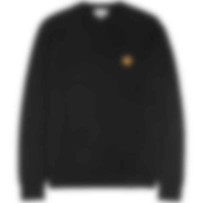 Kenzo - Tiger Crest Knit Pullover Sweater - Black
