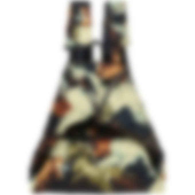 Kenzo - Kenzomania 'Kenzo Horses' Folded Backpack - Black