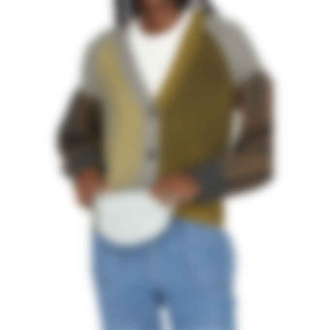 Kenzo - Canvas Kampus Tiger Small Belt Bag - Grey Green