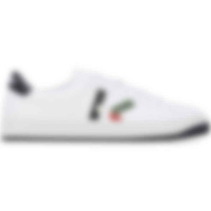 Kenzo - Kourt 'K Logo' Leather Sneakers - Bottle Green