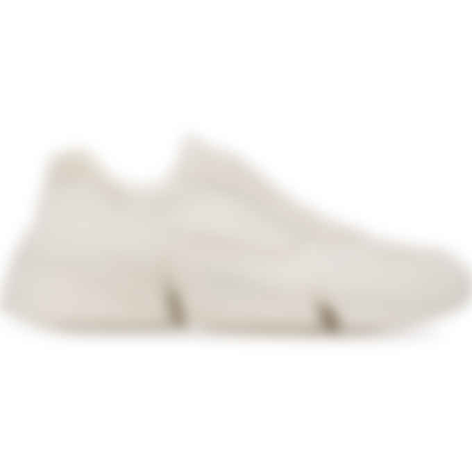 Kenzo - Kross Leather Sneakers - Ecru