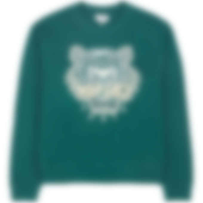 Kenzo - Tiger Pullover Sweater - Duck Blue