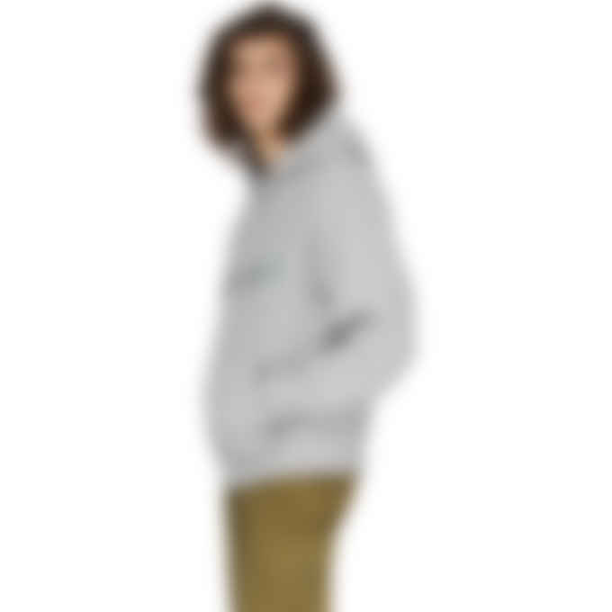 Kenzo - Multi Logo Hoodie - Pearl Grey