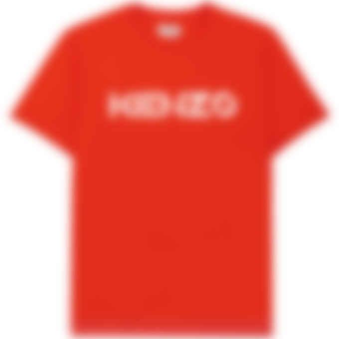 Kenzo - Logo T-Shirt - Medium Red
