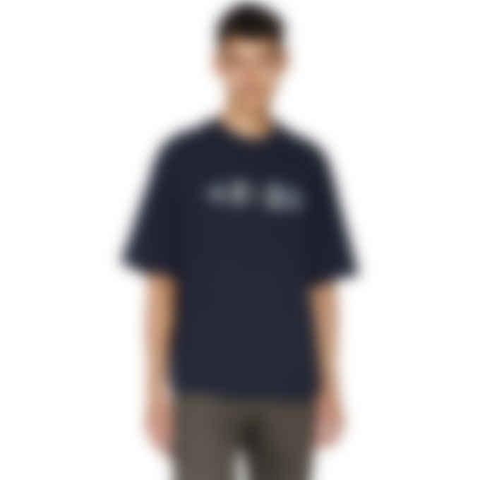 Kenzo - Multi 3D Logo Script T-Shirt - Navy Blue