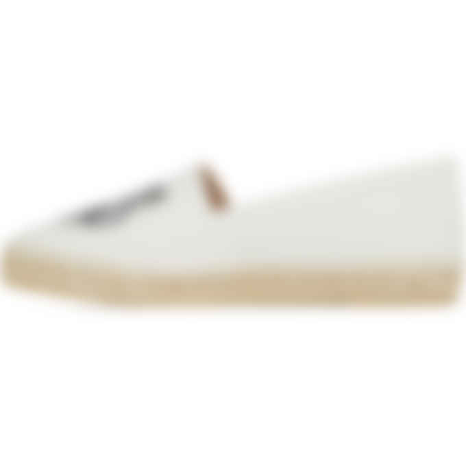 Kenzo - Classic Canvas Tiger Espadrilles - Off White