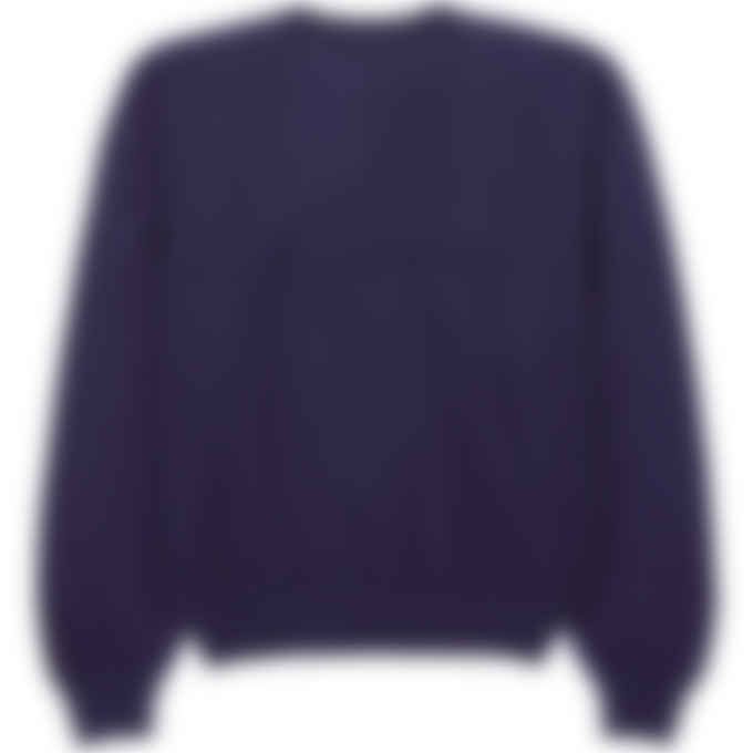 Kenzo - Tiger Crest Oversized Knit Pullover Sweater - Navy Blue
