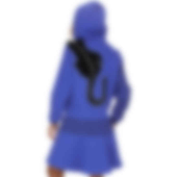Kenzo - Kenzo x Kansaiyamamoto 'Black Puma' Hoodie Dress - Royal Blue