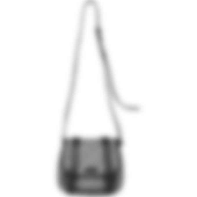 Kenzo - Courier Small Monogram Jacquard Saddle Bag - Misty Grey