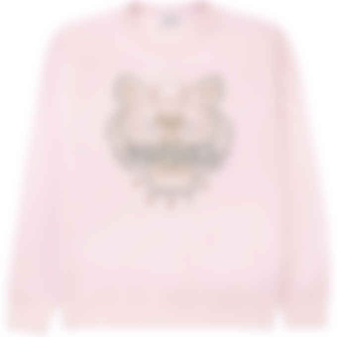 Kenzo - Tiger Pullover Sweater - Faded Pink