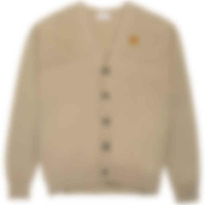 Kenzo - Tiger Crest Oversize Knit Cardigan - Taupe