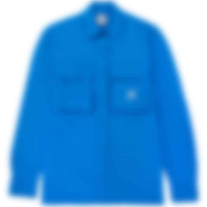 Kenzo - Kenzo Sport 'Little X' Shirt Jacket - Cyan