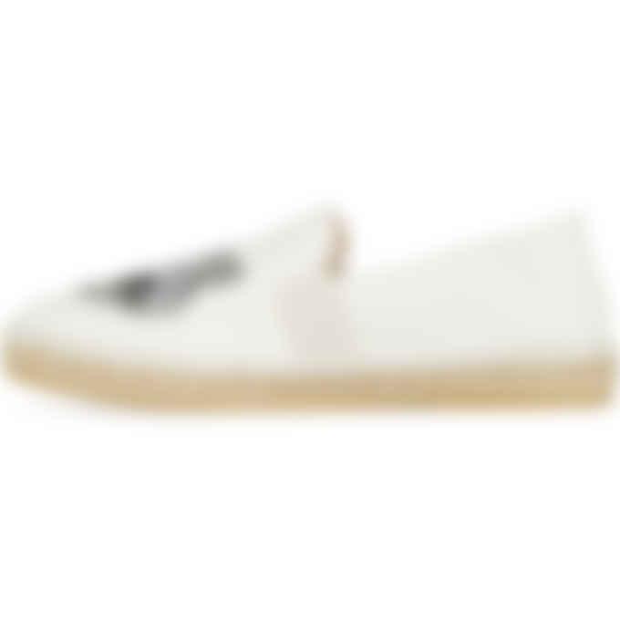 Kenzo - Tiger Elastic Espadrille - Off White