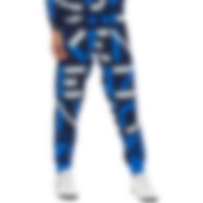 Kenzo - Kenzo Sport Monogram Jacquard Sweatpants - Midnight Blue