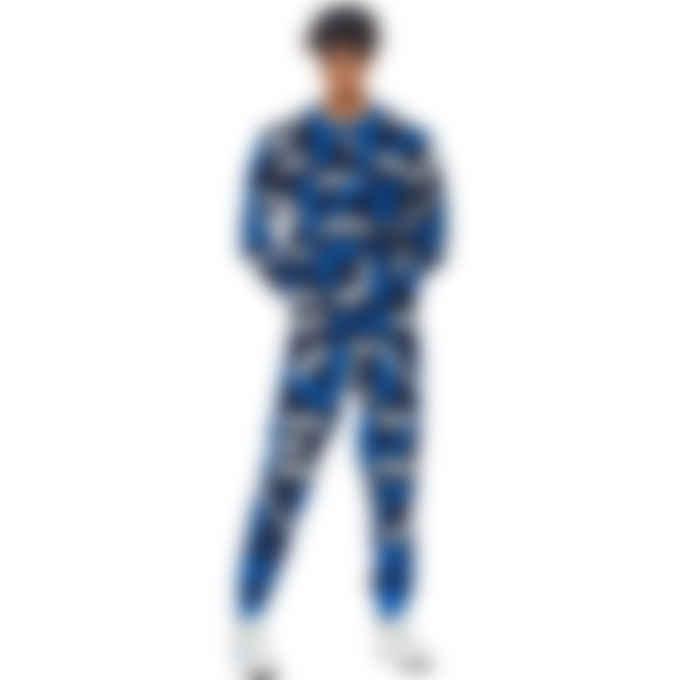 Kenzo - Kenzo Sport Monogram Jacquard Pullover Sweater - Midnight Blue