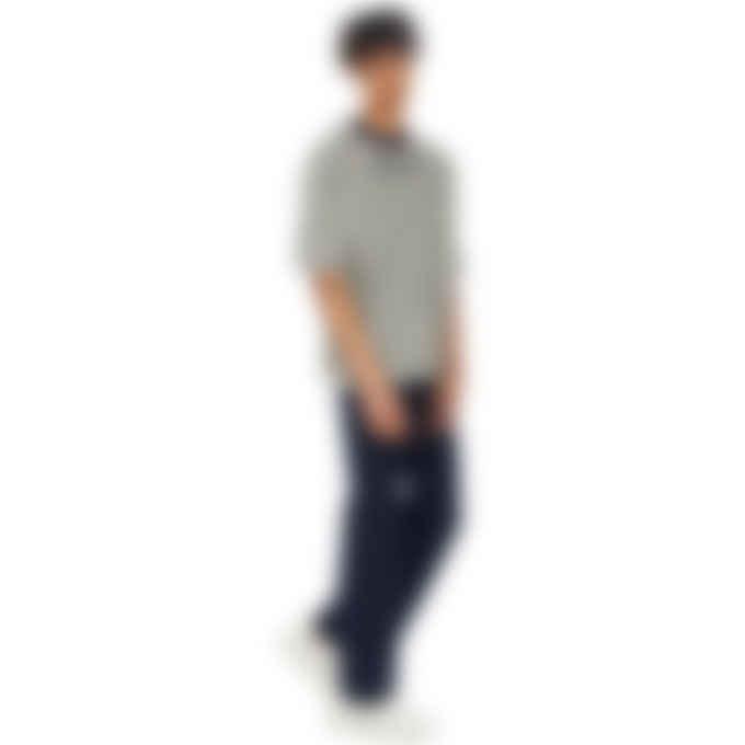 Kenzo - Kenzo Sport Short Sleeve Monogram Jacquard Pullover Sweater - Dove Grey
